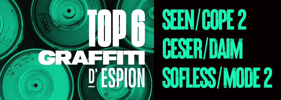 Top Graffiti par Espion