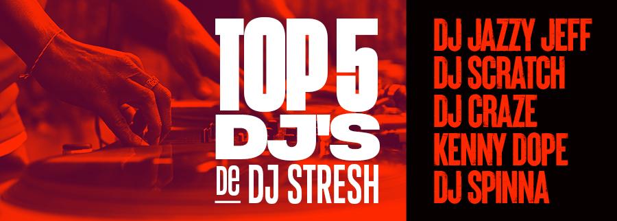 Top 5 DJ's par DJ Stresh - Photo par Acupicture