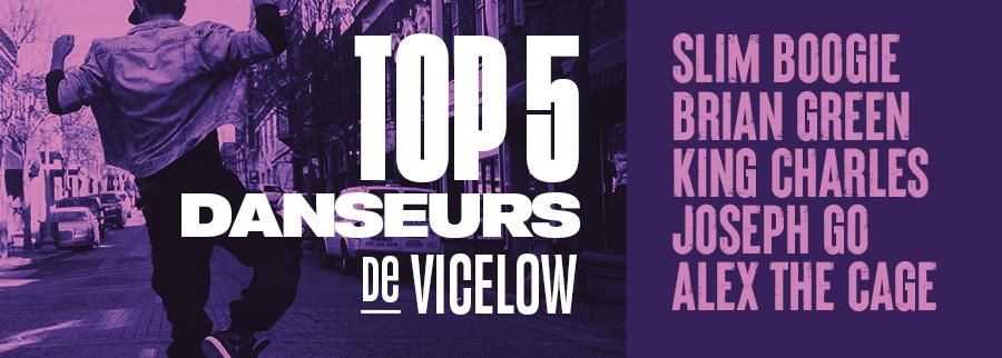 Top 5 danse de Vicelow
