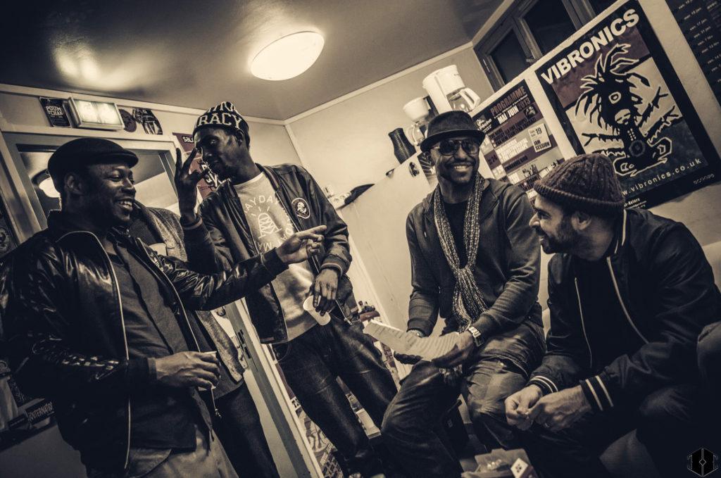 MC Solaar, Joe Lucazzi, JP Manova et Rocé © Hashka