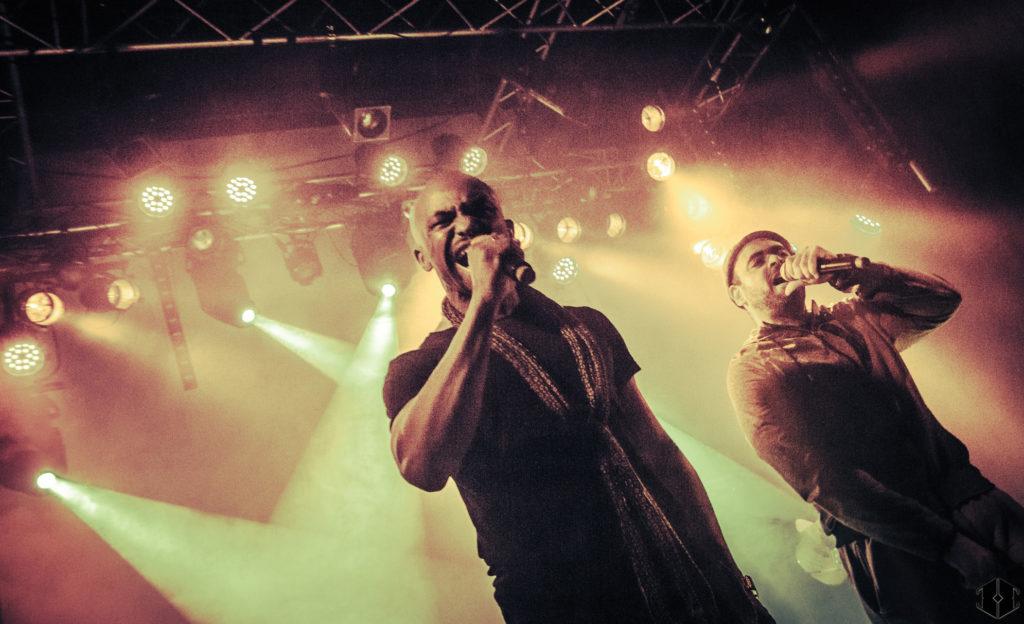 Rocé et JP Manova sur scène © photo Hashka
