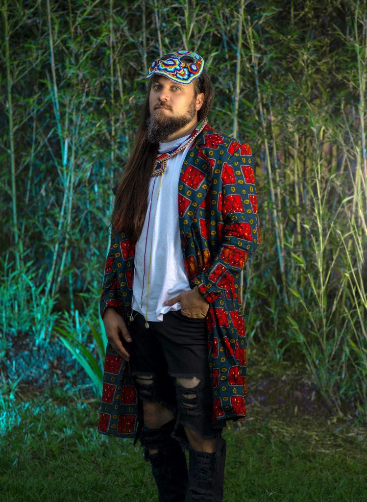 Monk.E, graffiti artist et musicien/MC québécois