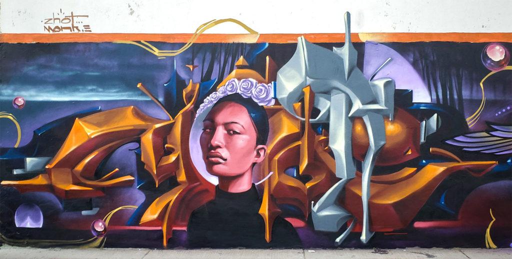 Mur par Monk.E et Zhot