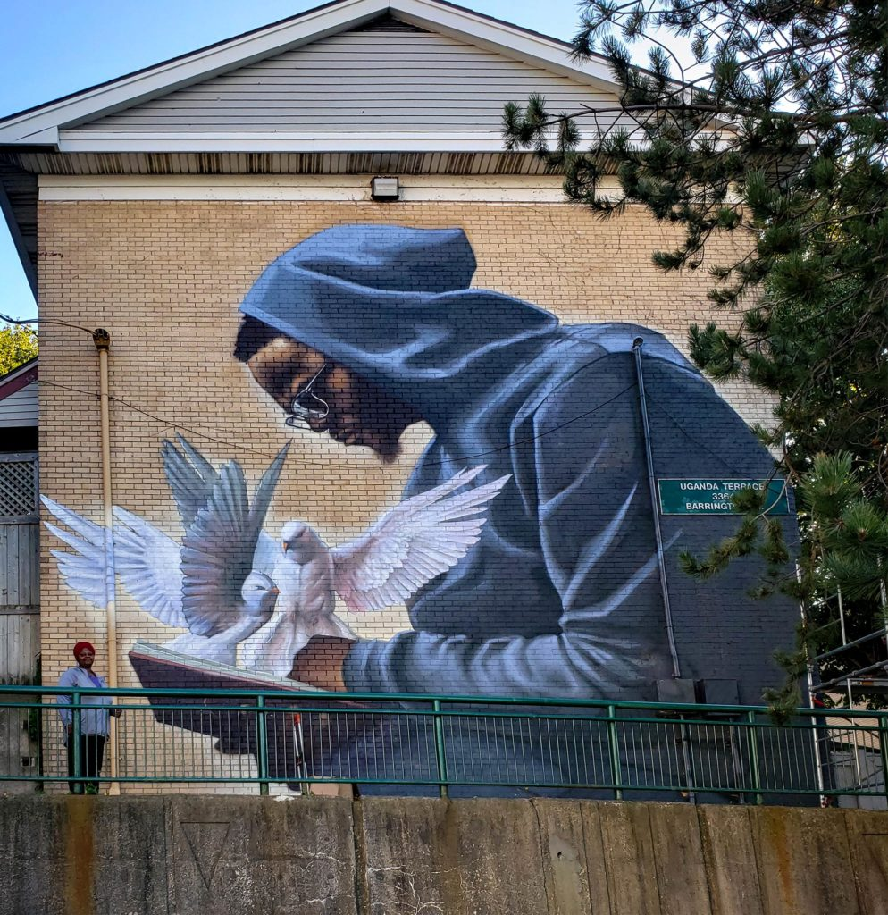 Mur figuratif par Monk.E