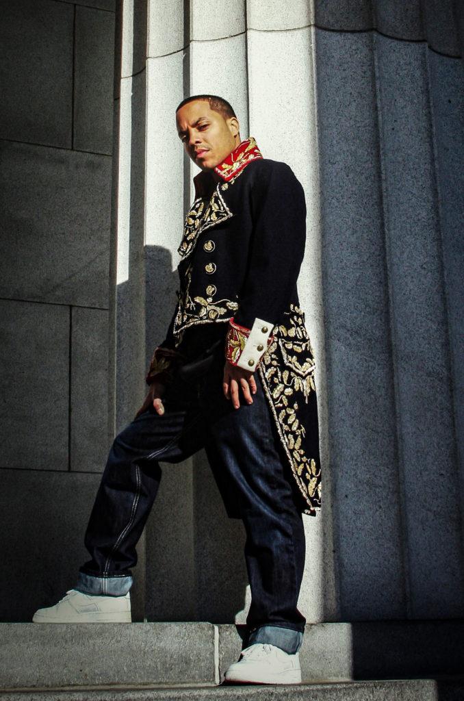 Napoleon da Legend en tenue d'apparat