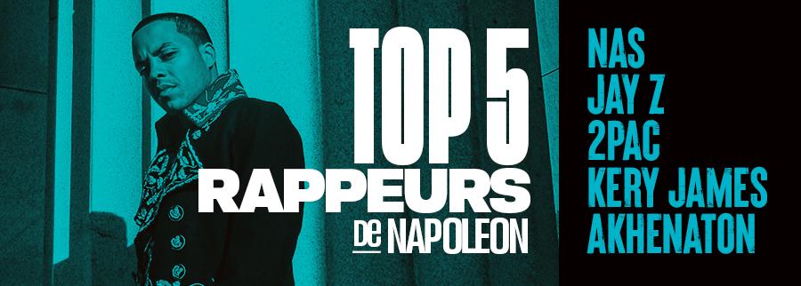 top 5 rap de Napoleon da Legend