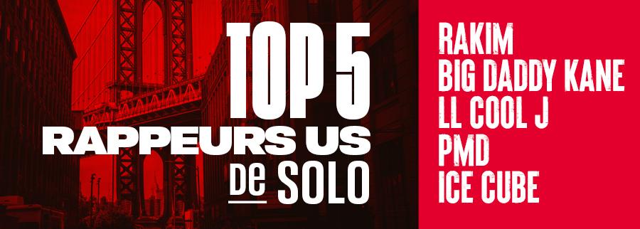 top 5 rap US par Solo