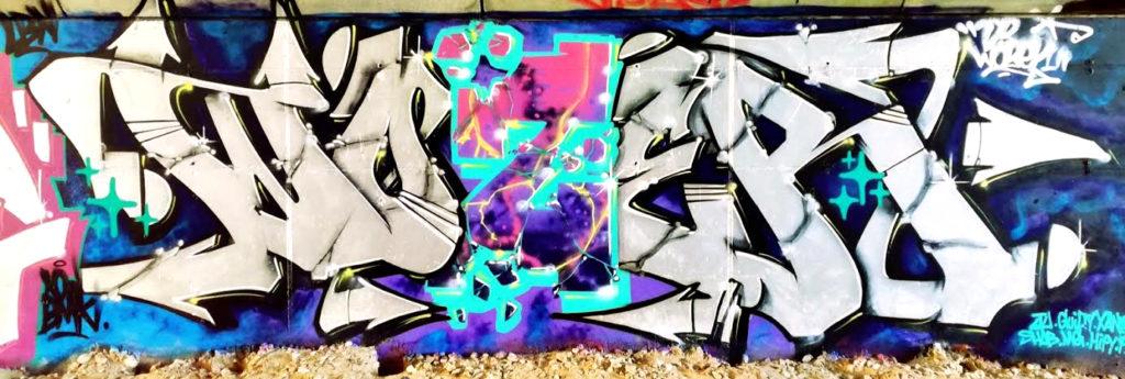 mur par Wozer