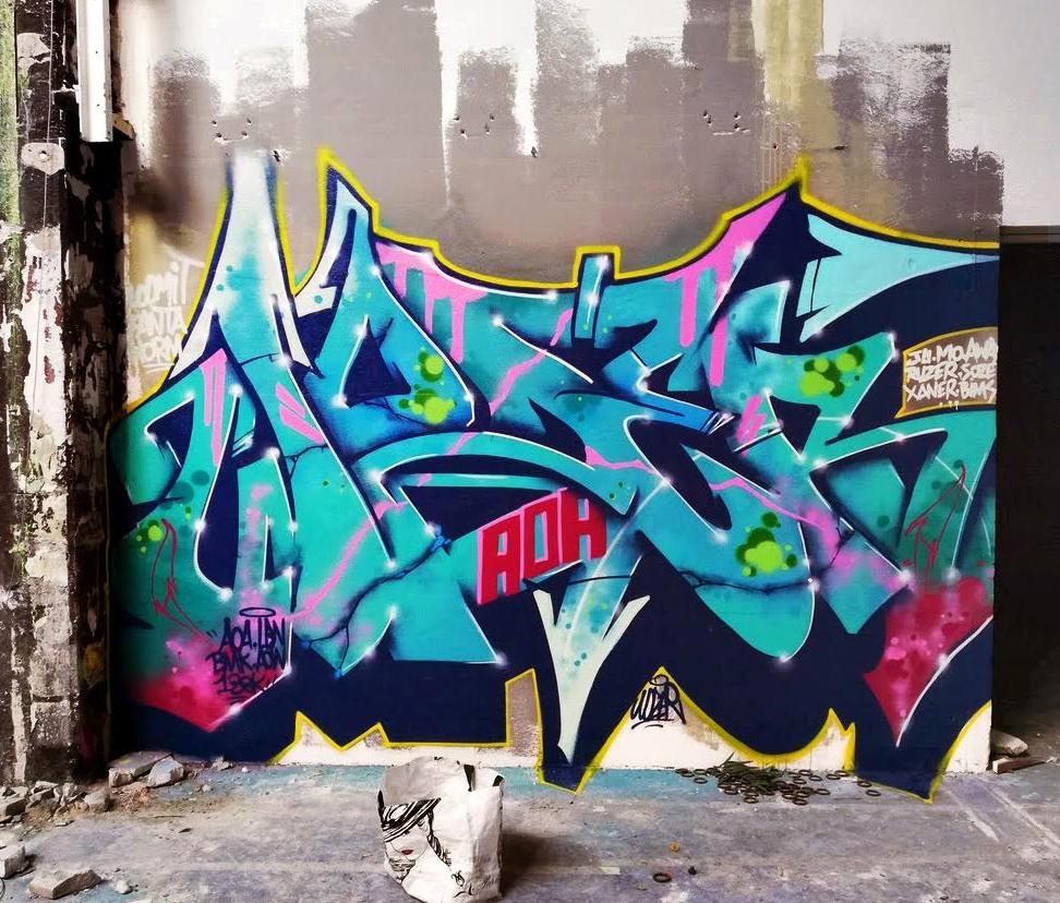 Docteur Wozer Graffiti