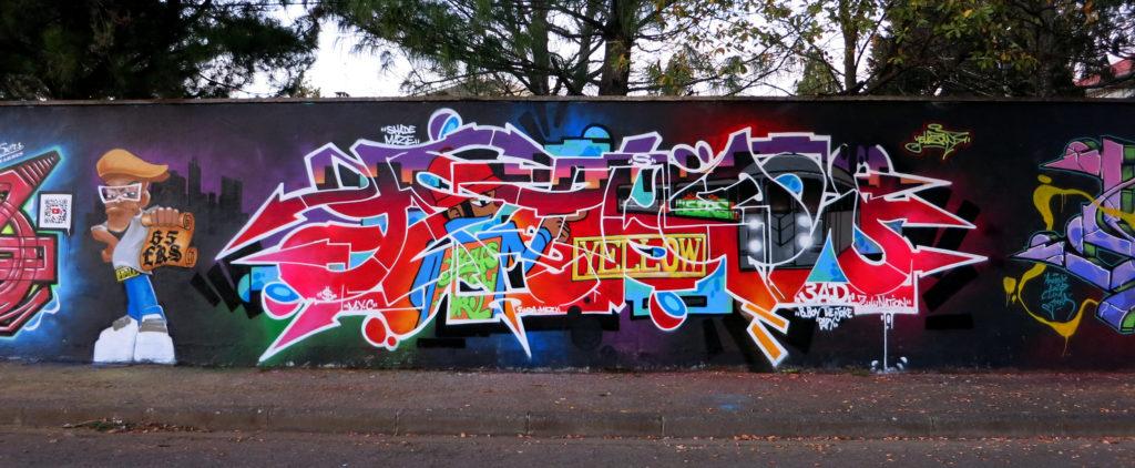 Graffiti Yellow 65ers