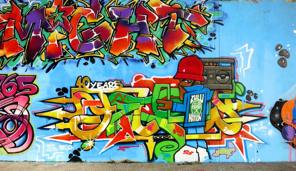 Yellow Jam Graffiti 40 ans du Hip Hop